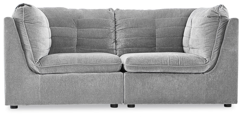 Amigo 2-Piece Modular Sectional - Granite