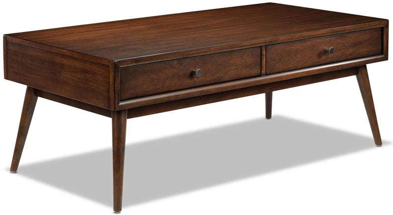 Boyton Coffee Table - Walnut