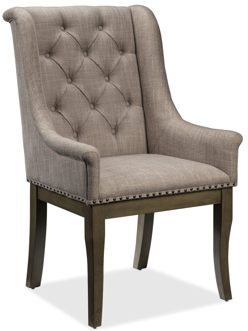 Cleopatra Arm Chair - Light Brown