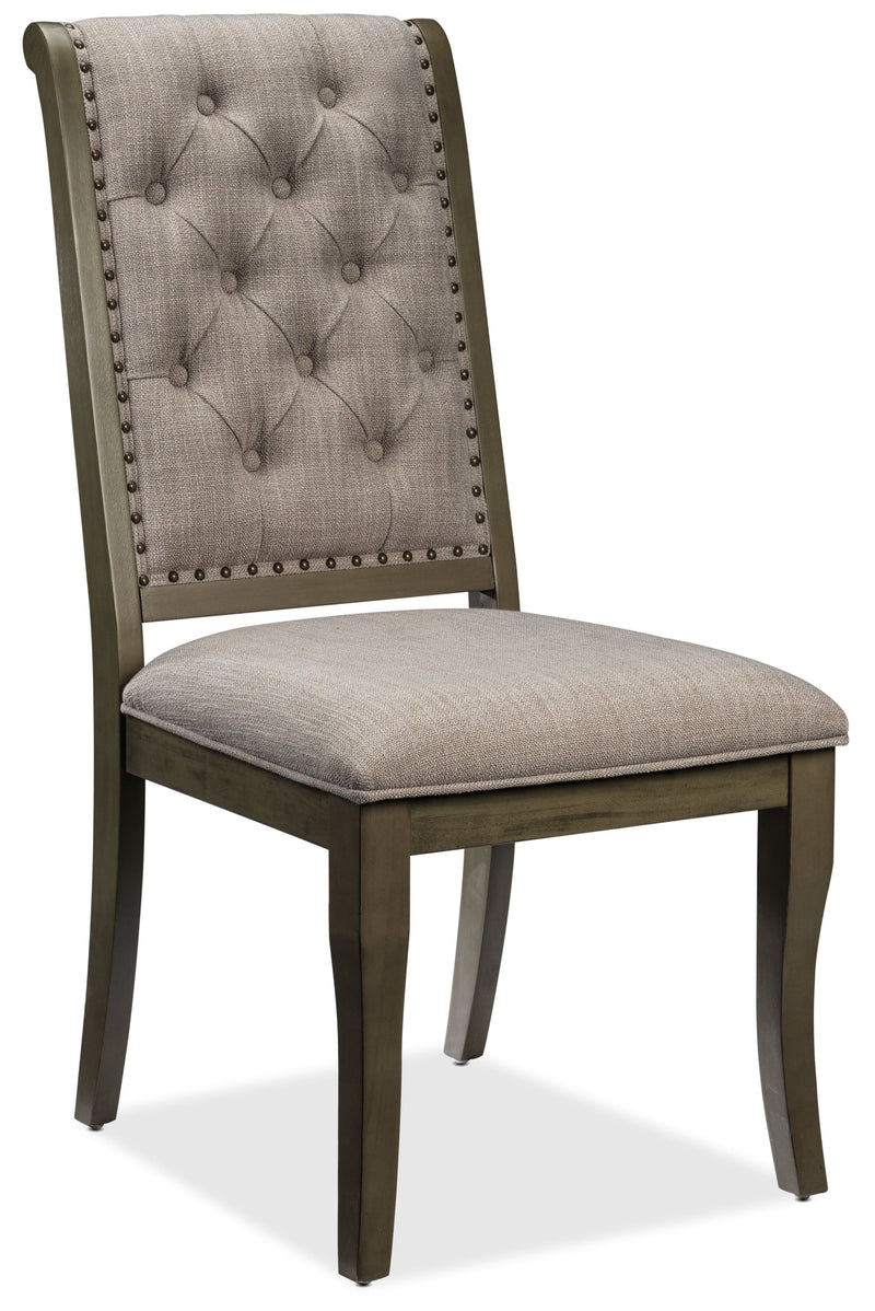 Cleopatra Side Chair - Light Brown