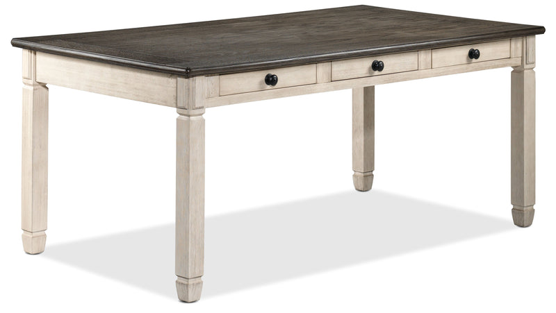Harold Dining Table   Antique White