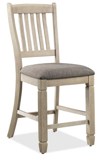 Harold Pub-Height Side Chair - Antique White