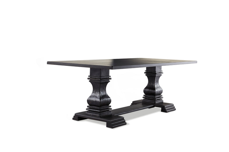 Winston Dining Table - Antique Black