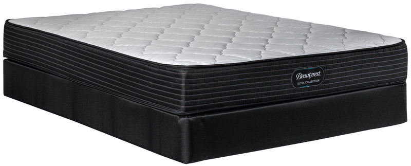 Simmons Beautyrest Ultra Newton Firm King Mattress and Split Boxspring Set