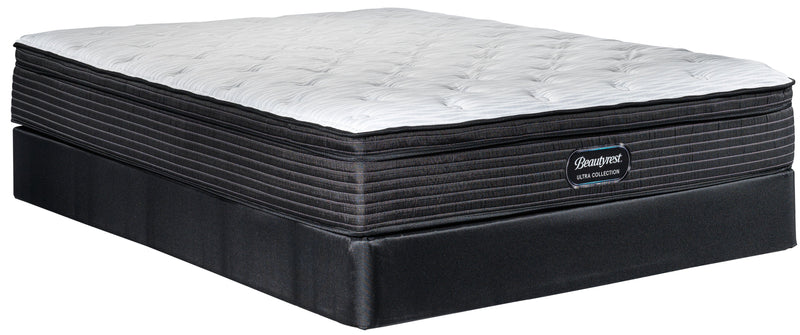 Simmons Beautyrest Ultra Jasper Firm King Mattress and Split Boxspring Set