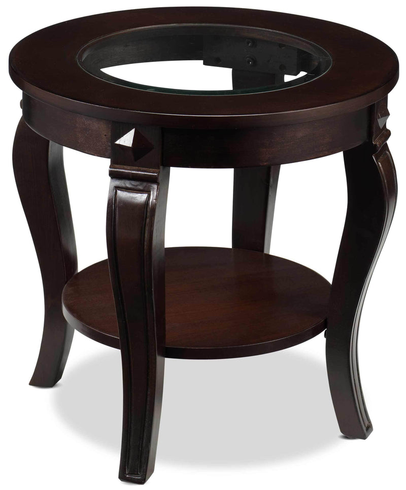 Madeira End Table - Walnut