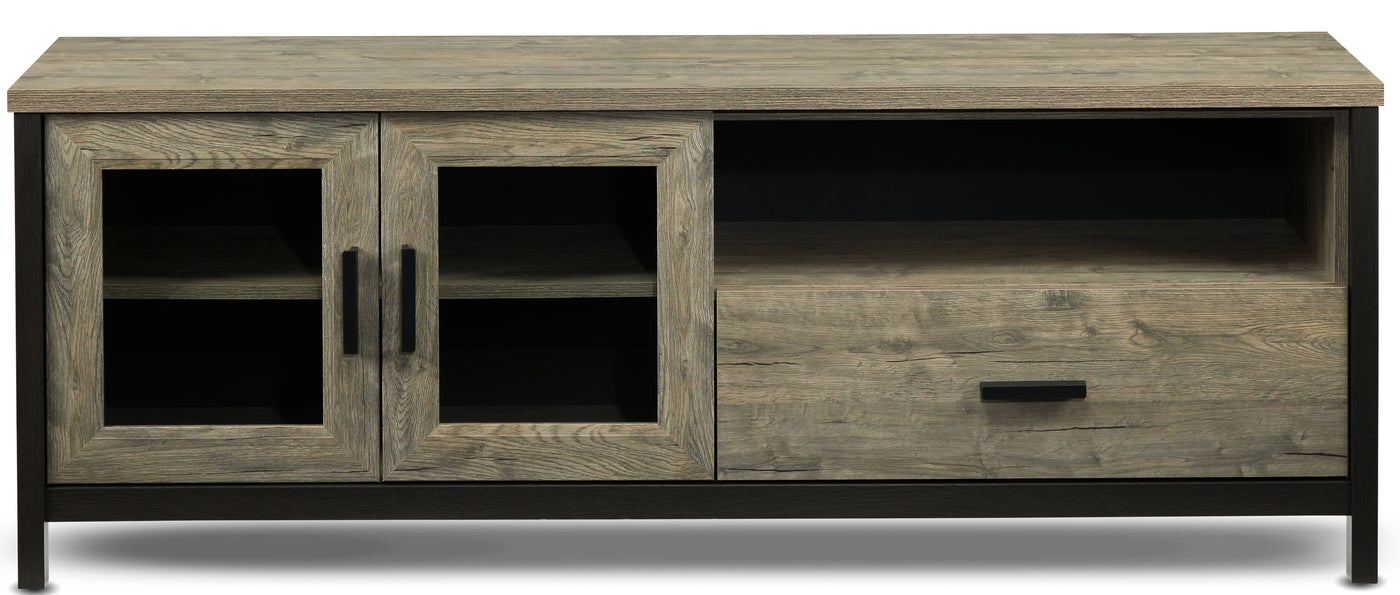Gibson Tv Stand Driftwood Leon S