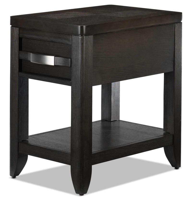 Manila Chairside Table - Grey
