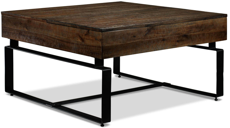 Lincoln Lift-Top Coffee Table - Walnut