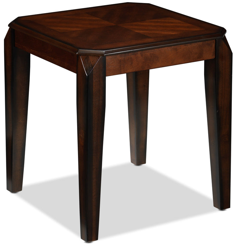 Lennox End Table - Walnut