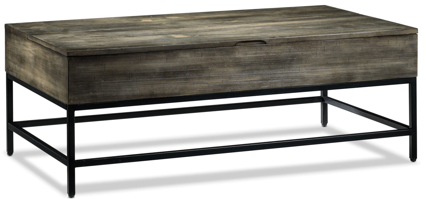 Lift Top Coffee Table.Asher Lift Top Coffee Table Grey