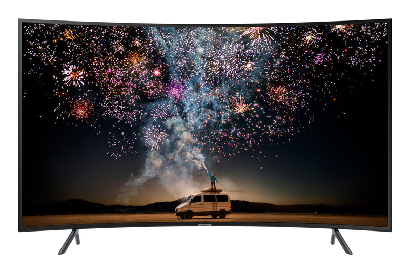 "SAMSUNG 65"" 4K CURVED HDR 120 MR SMART LED TV - UN65RU7300FXZC"