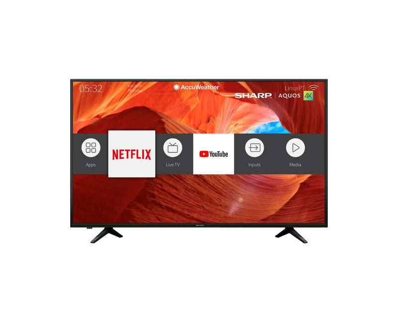 "Sharp 65"" Smart 4K LED TV - LC-65N7004U"