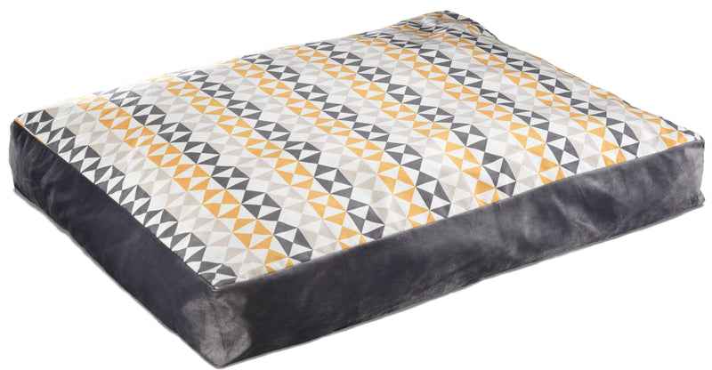 Slab Pet Bed XLarge - Modern Triangle