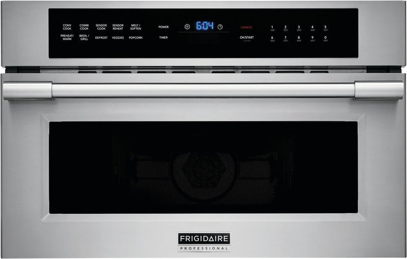 Frigidaire Professional Smudge-Proof™ Stainless Steel Built-In Microwave (1.6 Cu. Ft.) - FPMO3077TF