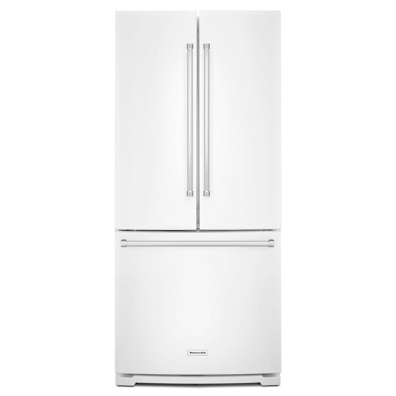 KitchenAid White French Door Refrigerator (20 Cu.Ft.) - KRFF300EWH