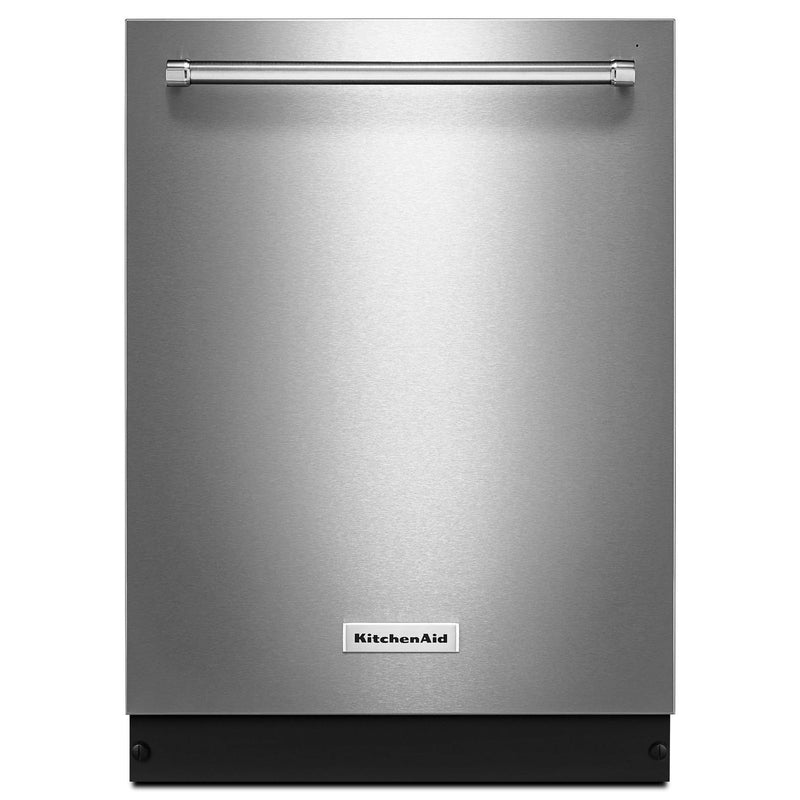 "KitchenAid PrintShield Stainless Steel 24"" Dishwasher (46 dBA) - KDTE204GPS"