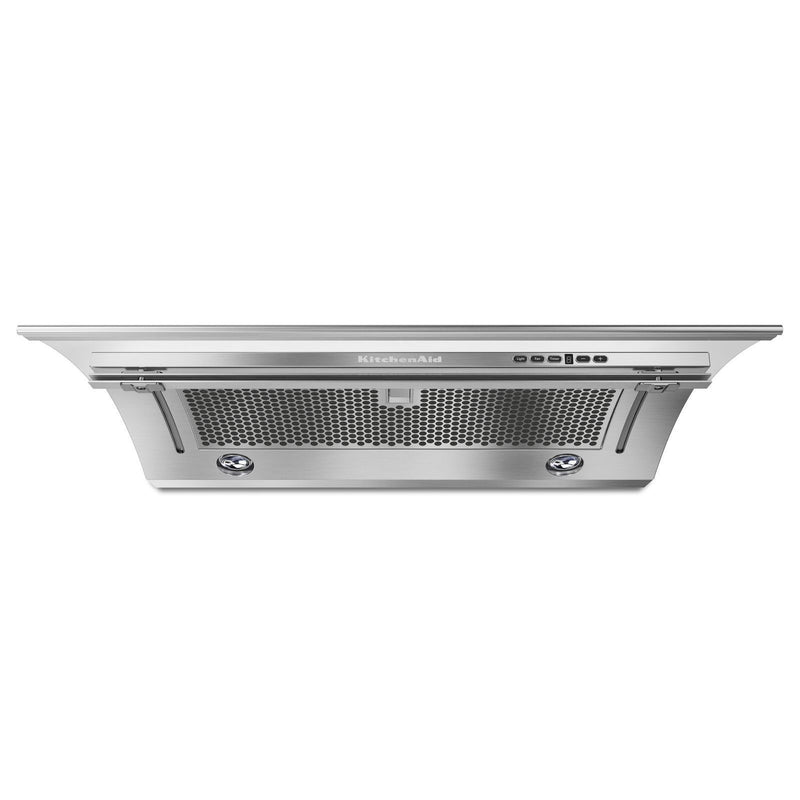 "KitchenAid Stainless Steel 30"" Slide-Out Range Hood - KXU2830YSS"