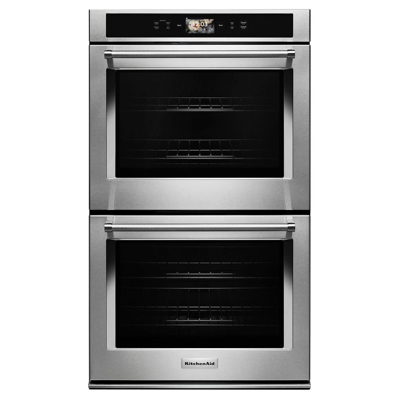 KitchenAid Stainless Steel Smart Double Oven (10.0 Cu.Ft.) - KODE900HSS