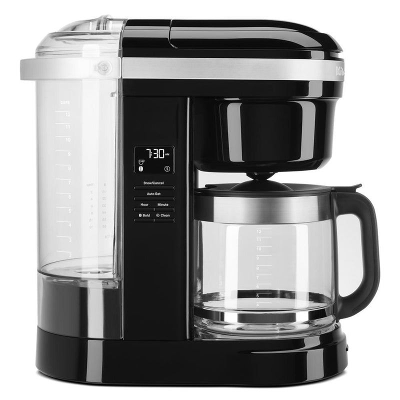 KitchenAid® 12 Cup Drip Coffee Maker with Spiral Showerhead - KCM1208OB