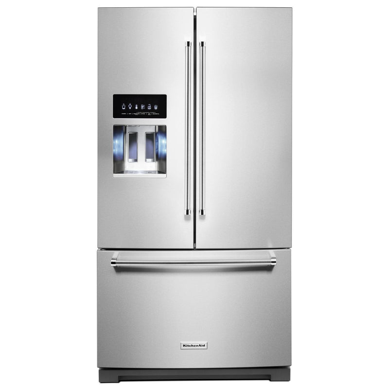 KitchenAid PrintShield Stainless French Door Refrigerator (26.8 Cu. Ft.) - KRFF507HPS