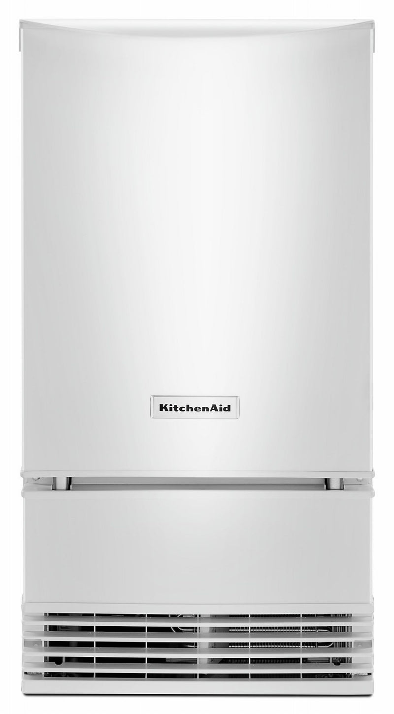 KitchenAid White Automatic Ice Maker (18 inch.) - KUID508HWH