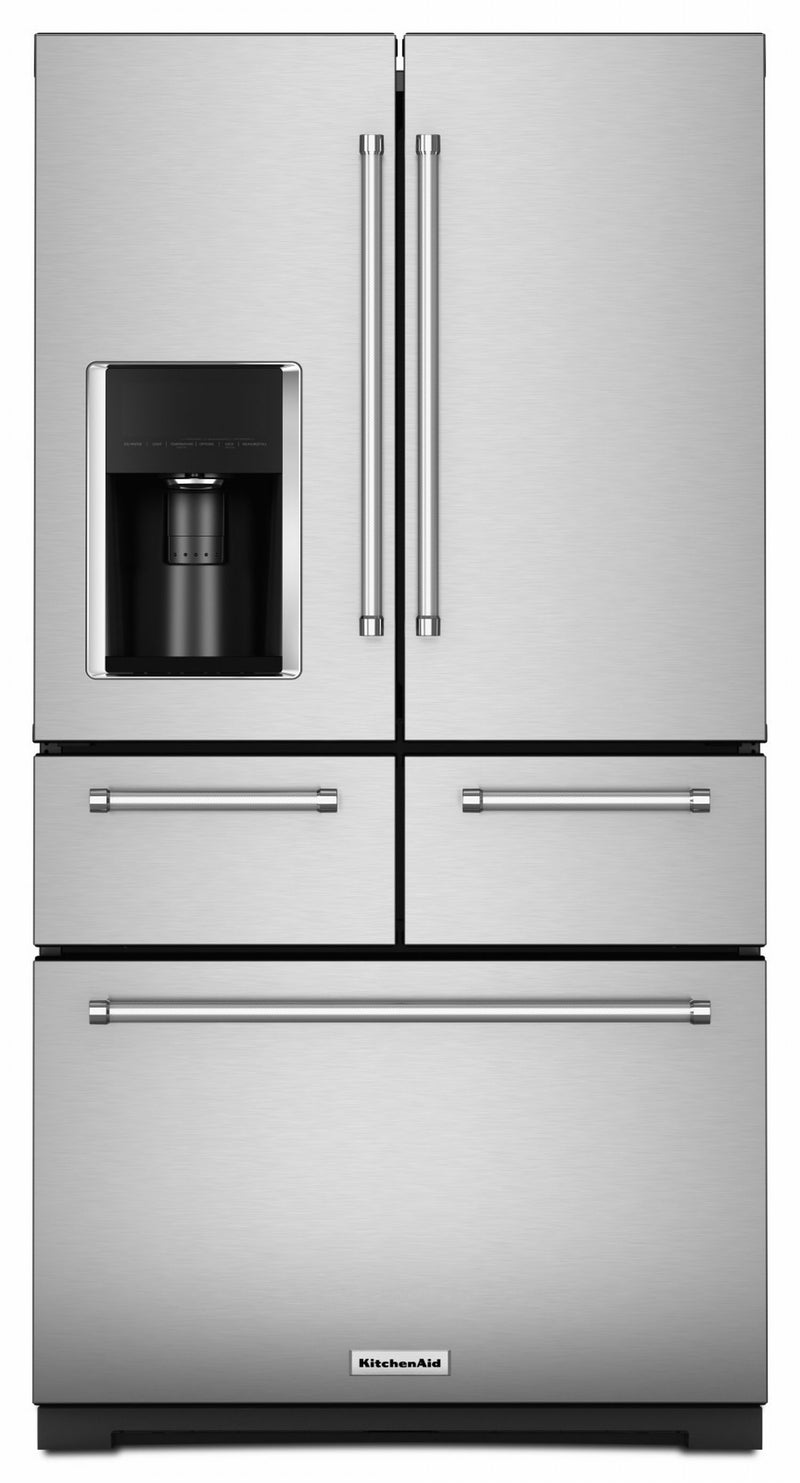 KitchenAid Stainless Steel French Door Refrigerator (25.8 Cu.Ft.) - KRMF706ESS