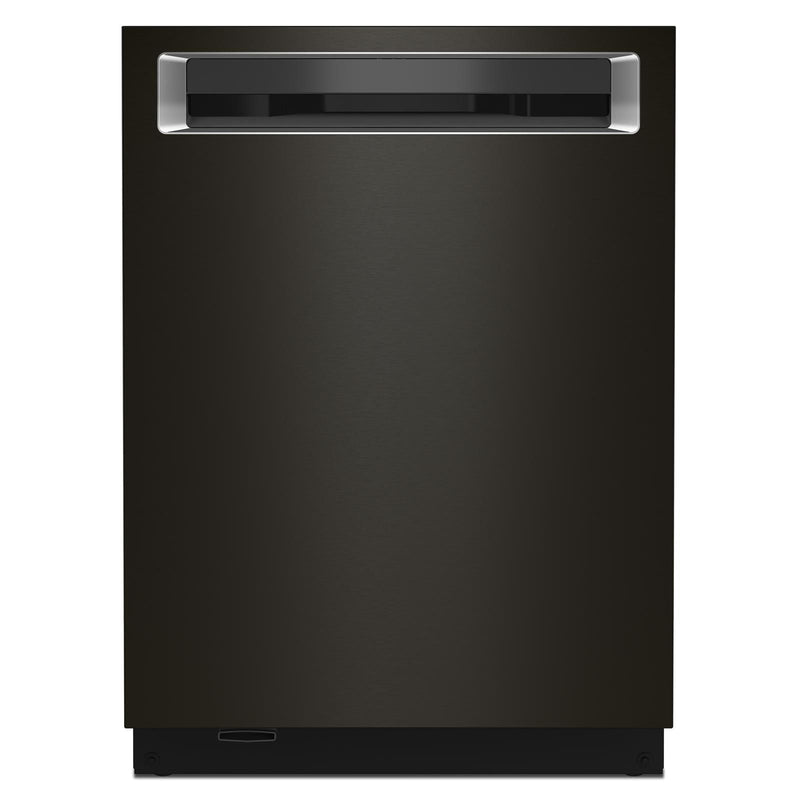 "KitchenAid® Black Stainless 24"" Dishwasher - KDPM804KBS"
