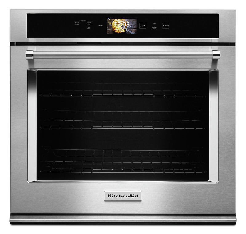 KitchenAid Stainless Steel Smart Single Wall Oven (5.0 Cu.Ft.) - KOSE900HSS