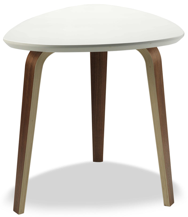 Stacey End Table - Ivory