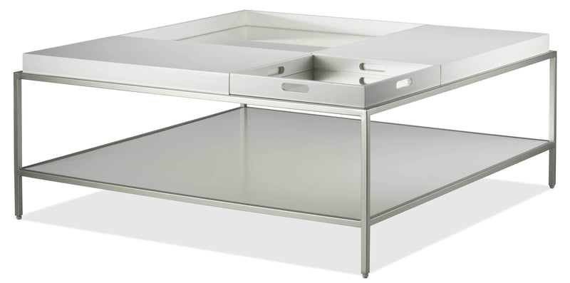 Delaney Coffee Table - White