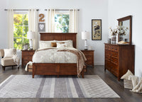San Mateo 7-Piece Queen Bedroom Set - Tuscan