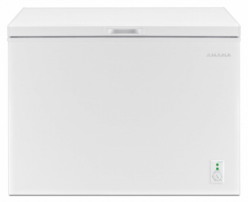Amana White Compact Chest Freezer (9 Cu. Ft.) - AQC0902GRW