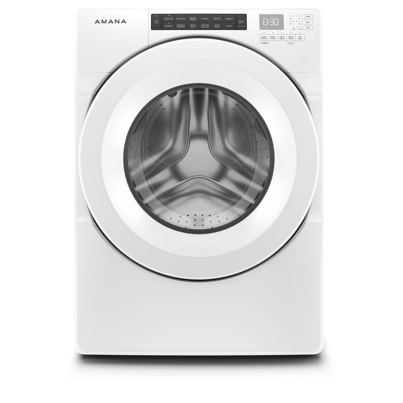 Amana White Front Load Washer (5.0 Cu.Ft.) - NFW5800HW