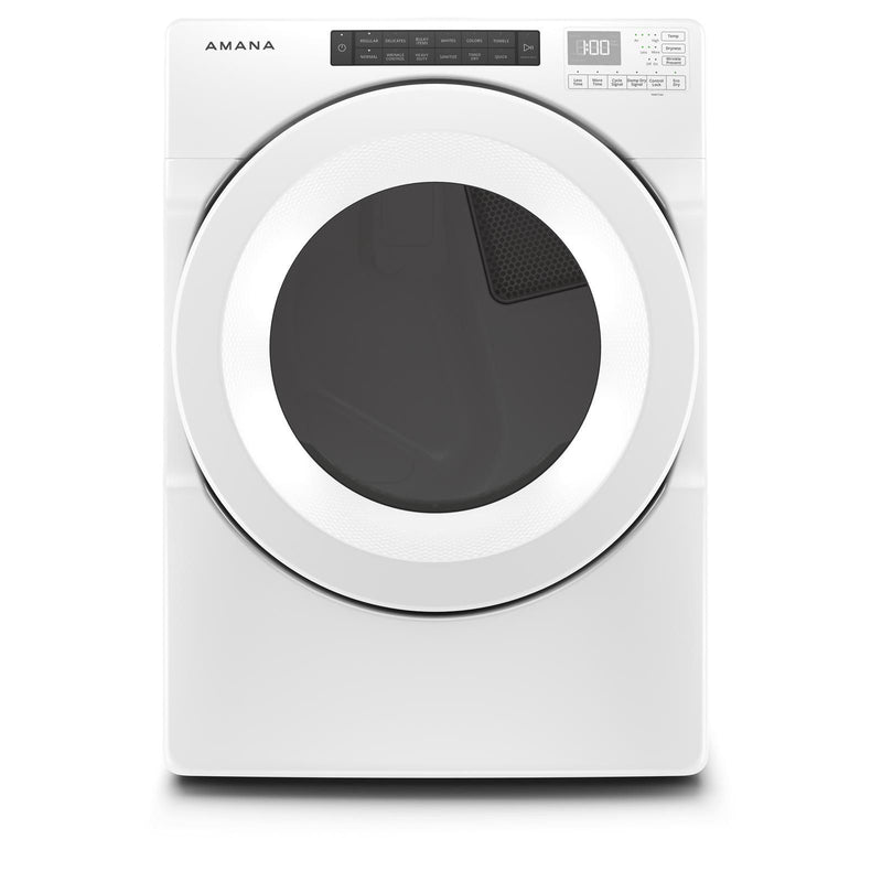 Amana White Electric Dryer (7.4 Cu.Ft.) - YNED5800HW