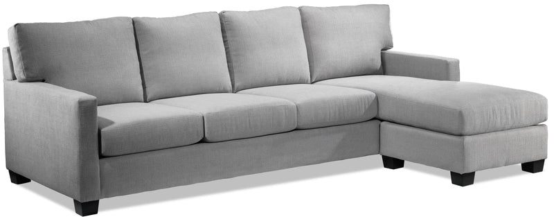 Linton Chaise Sofa - Grey