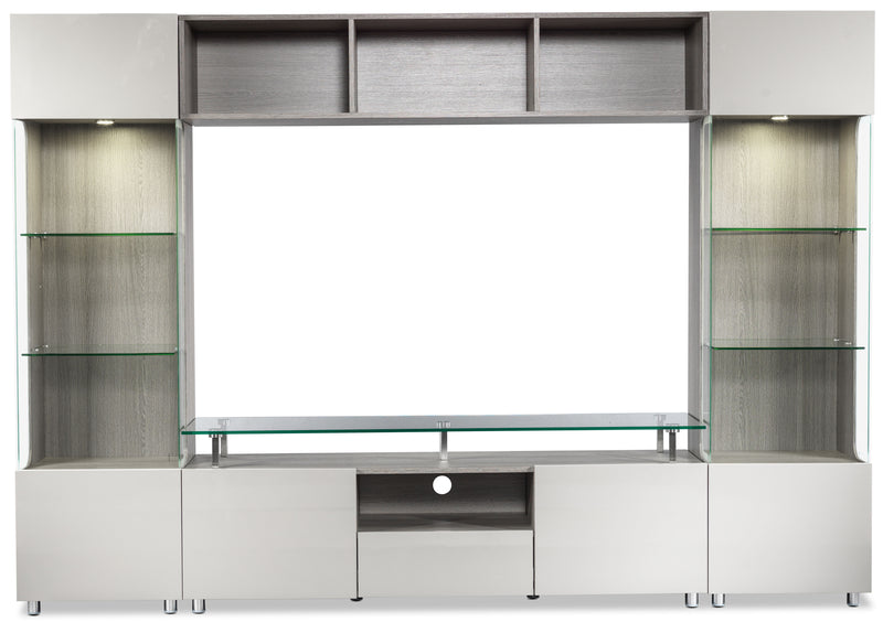 Sebring Entertainment Unit - Grey