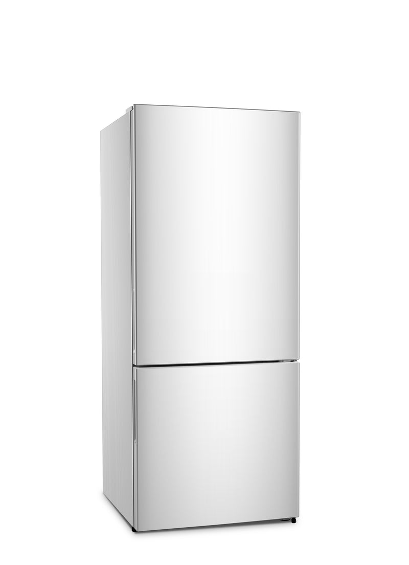 Hisense White Counter-Depth Bottom-Mount Swing Refrigerator (14.8 Cu. Ft.) - RB15N6AWE