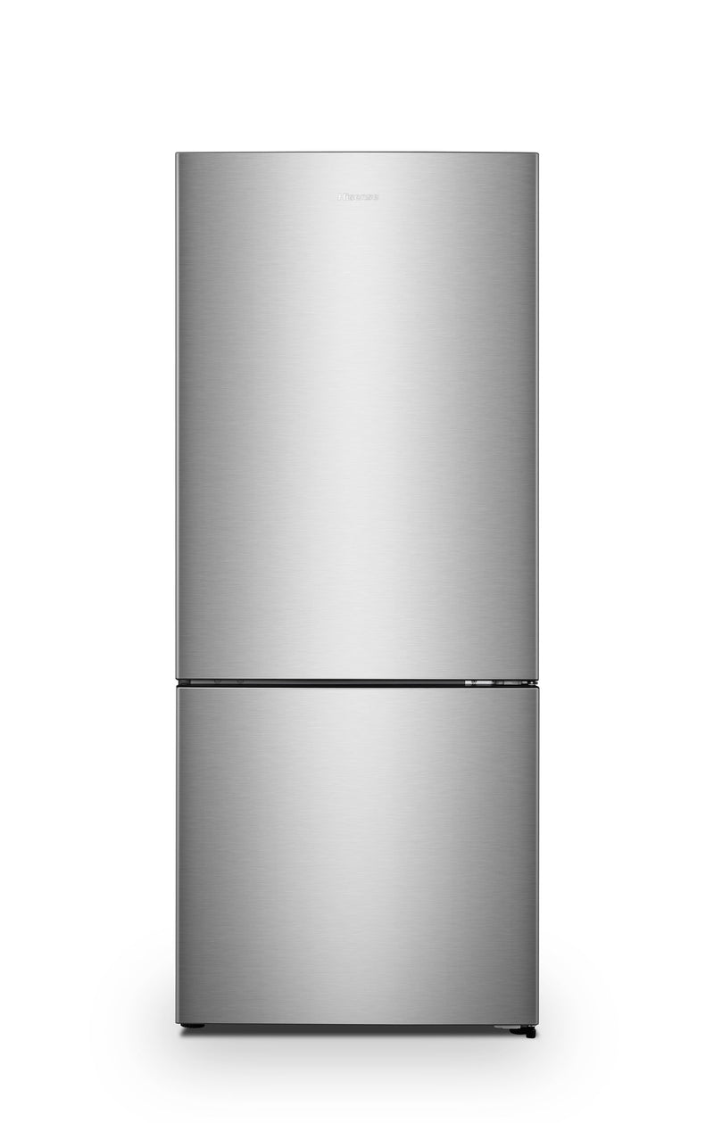 Hisense Stainless Steel Counter-Depth Bottom-Mount Swing Refrigerator (15 Cu. Ft.) - RB15N6ASE