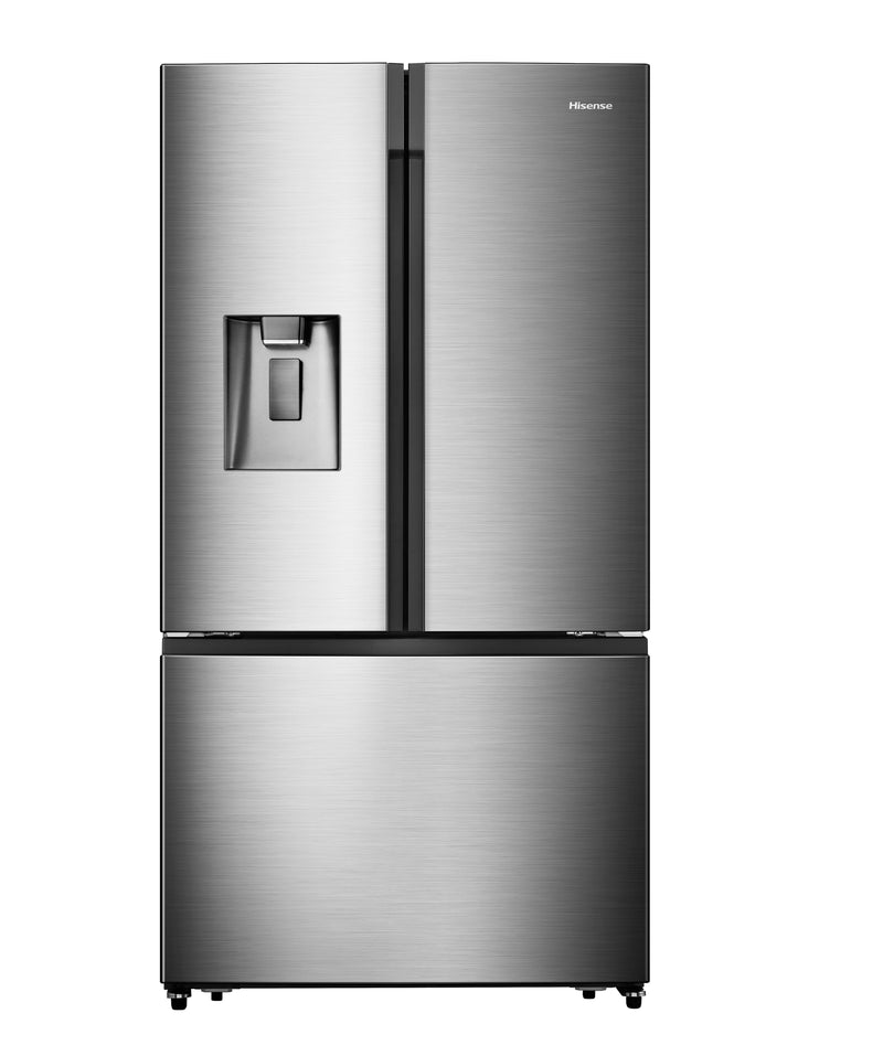 Hisense Stainless Steel Counter-Depth French-Door Refrigerator with Water and Ice (21.1 Cu. Ft.) - RF208N6CSE