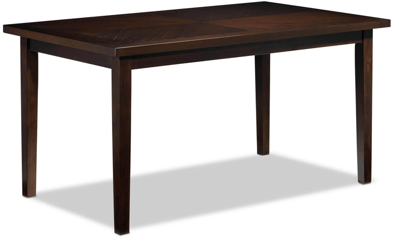 Lauren Dining Table - Dark Brown