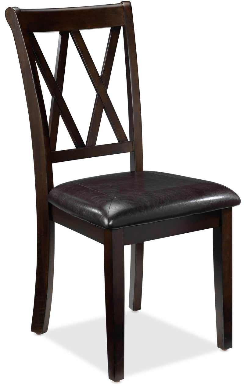 Lauren Side Chair - Dark Brown