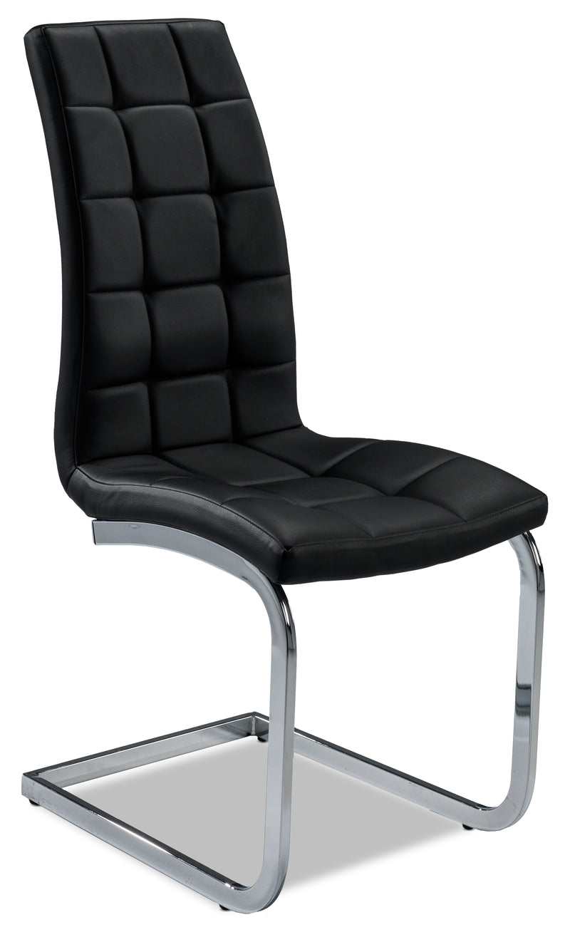 Padria Side Chair - Black