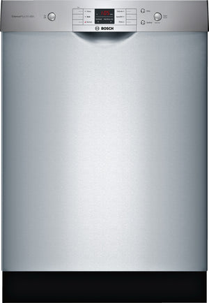 "Bosch 100 Series Stainless Steel 24"" Dishwasher - (SHEM3AY55N)"
