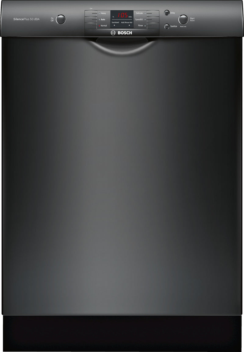 "Bosch 100 Series Black 24"" Dishwasher - SHEM3AY56N"