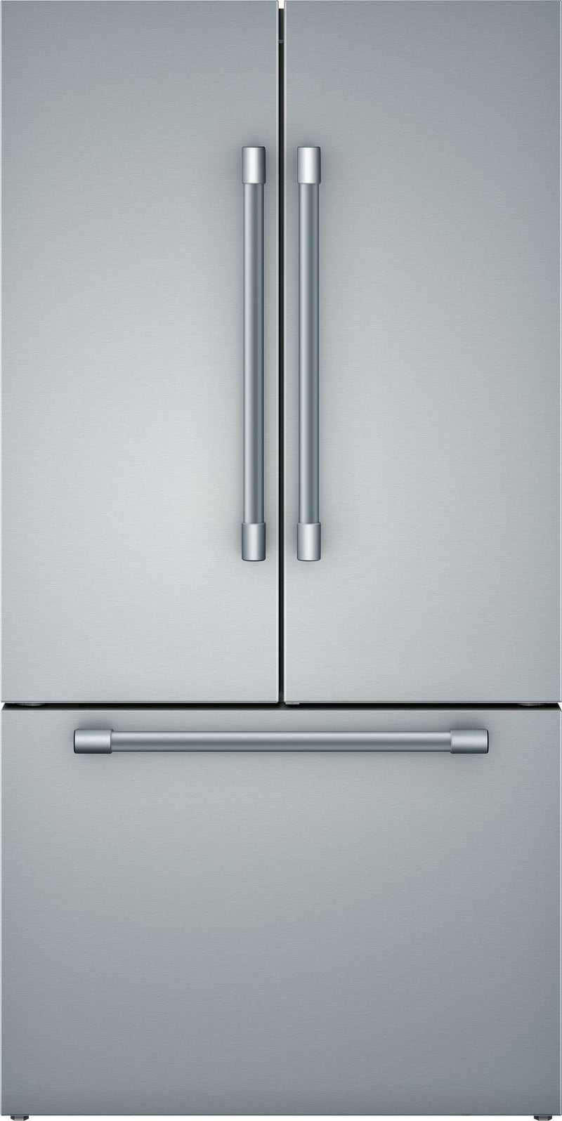 Bosch 800 Series Stainless Steel Counter Depth French Door Refrigerator (21 Cu.Ft) - B36CT81SNS