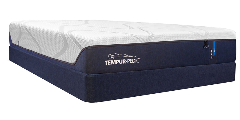 Tempur-Pedic Pro-React Plush Queen Mattress and Boxspring Set