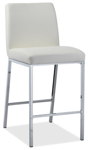 Remarkable Lamar Counter Height Stool White Gmtry Best Dining Table And Chair Ideas Images Gmtryco