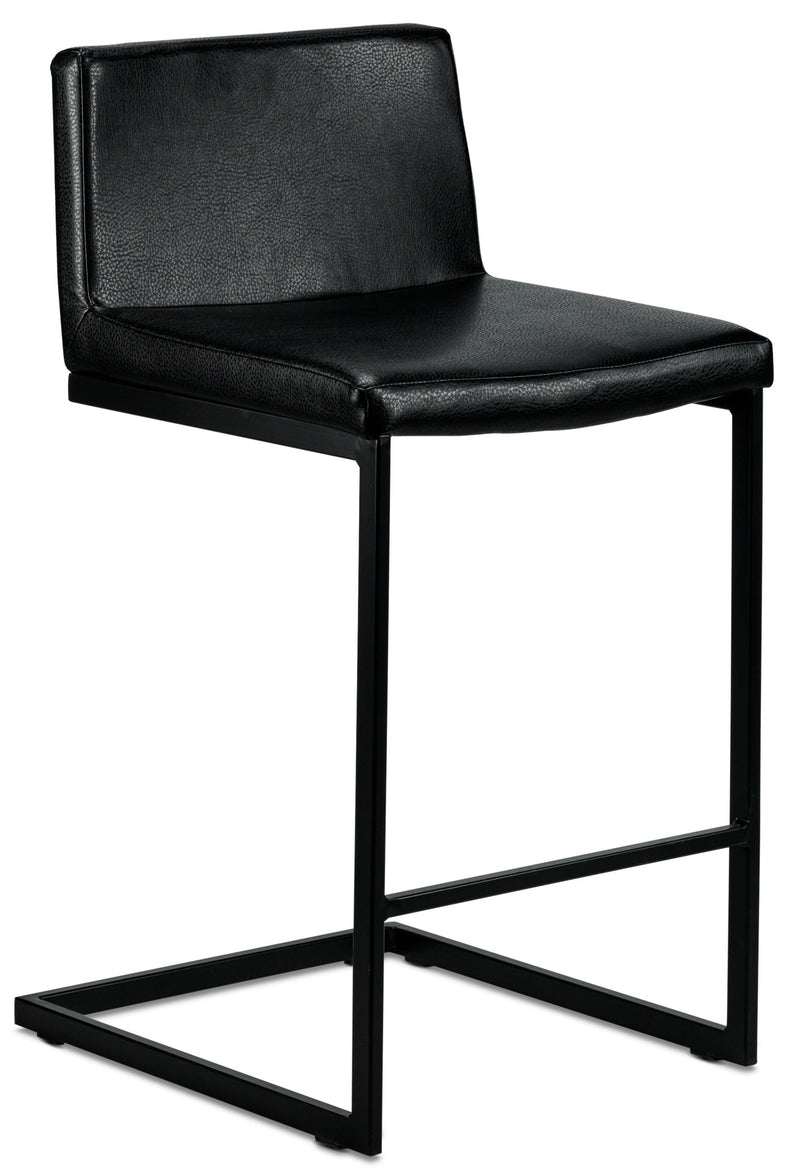 Paco Counter Height Stool - Black