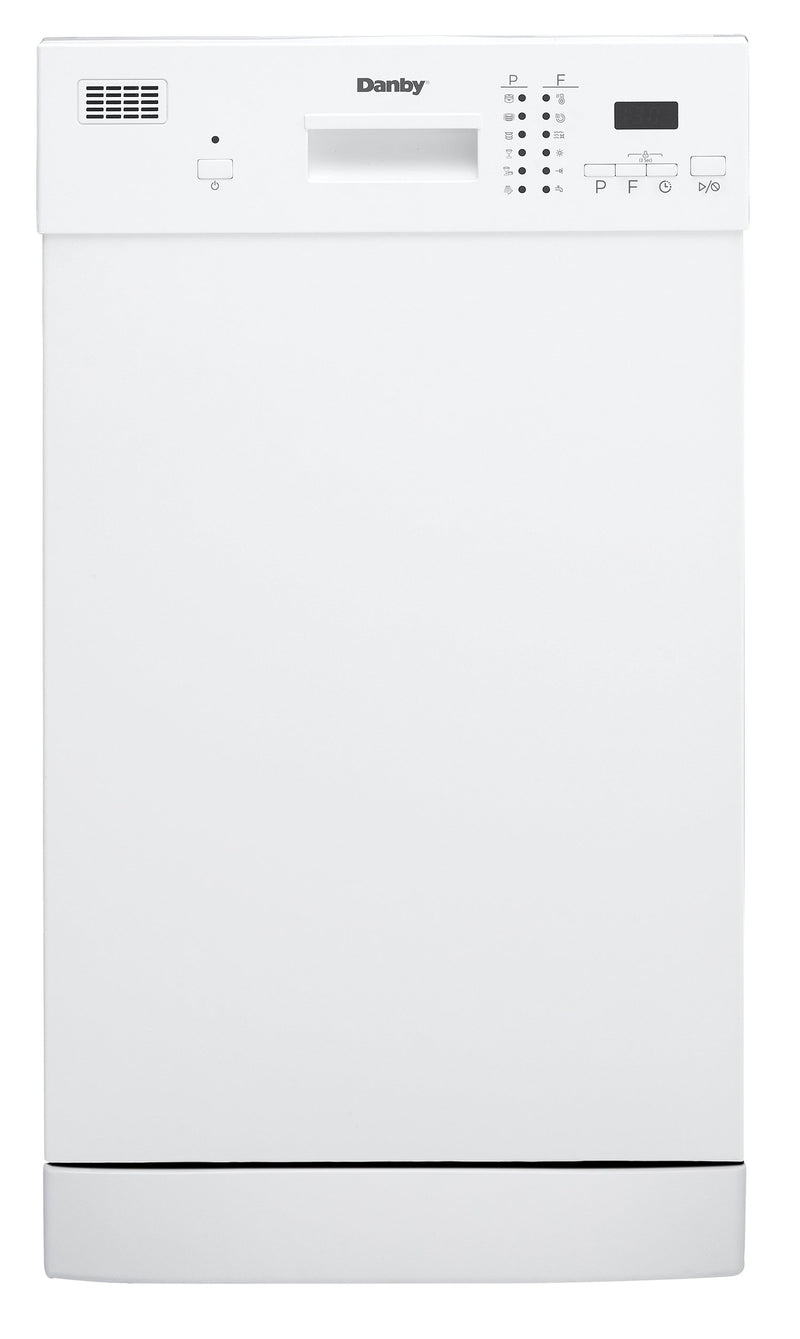 "Danby White 18"" Dishwasher - DDW1804EW"